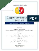 Diagnóstico Situacional Distrital 2016 (Borrador)