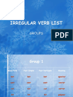 irregularverbgroup.ppt