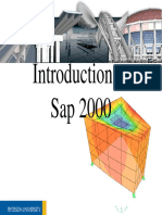 Introduction to SAP2000