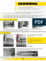 Adjusting Guideline Precision Milling Chuck APC Web