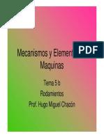 TEMA 5 B (Cojinetes de Rodadura