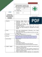 SOP Monitoring Jadwal Dan Pelaksanaan Monitoring