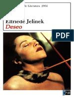 Deseo - Elfriede Jelinek - Copia