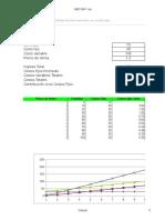 Planilla de Excel Para Calculo de Costo Variable y Costo Fijo (1)