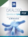 Catalogo Sevicios en Linea SRI