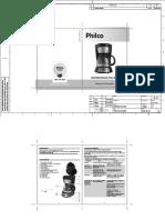 Cafeteira Dig Ph14 Inox_manual Philco