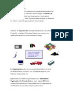 La serie de Normas ISO 9000 son un conjunto de enunciados.docx