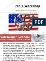 Volkswagen-Response to Crisis Final