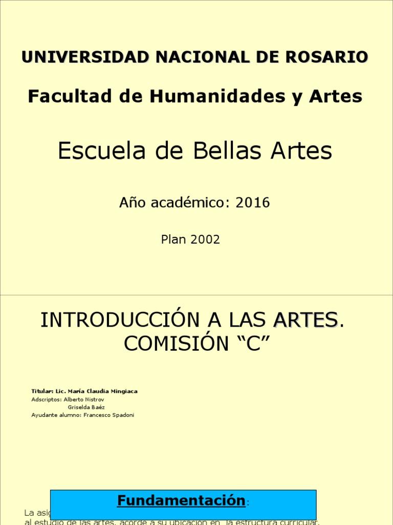 Primera Clase 2015 Historia Del Arte Evaluación