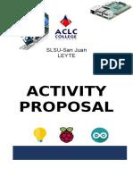 Activity Proposal SLSU SanJuan Arduino 2