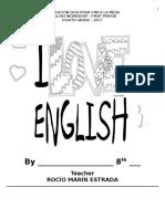 Taller Ingles Primer Periodo Grado Octavo 2017