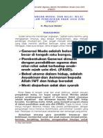 Pengembangan Moral dan Nilai-Nilai Agama PAUD,PDG-110108