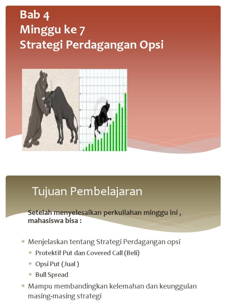 strategi perdagangan yang melibatkan opsi bab 10