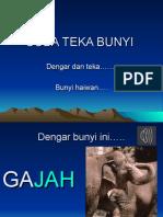 TEKA BUNYI