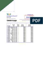 Excel 15 Horas - Cronograma de Pagos
