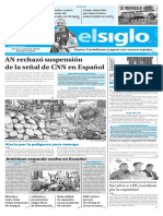 Edición Impresa Elsiglo 22-02-2017