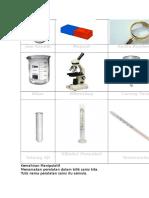 Peralatan Sains Yr 1