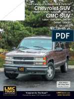 Chevrolet Grand Blazer Yukon Suburban -Service Manual-