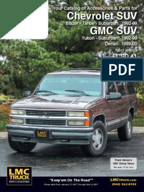 96-99 CHEVY GMC SIERRA 1500 TAHOE YUKON TRUCK SUV A//C TEMP CONTROL W//DEFOG