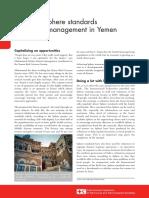Sphere Standards Yemen