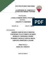 Buro de Credito Organigrama y Politicas
