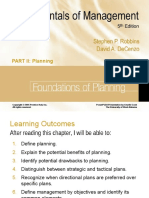 Fundamental of Planning - Robbins.ppt