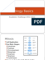 basic biology slides for academic challenge studying