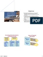 Intro to Managerial Acctg