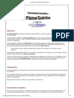 Conciencia, Causalidad y Física Quántica