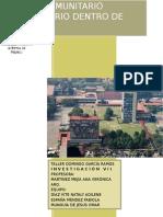 Investigación Centro Comunitario Universitario