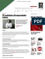 25 Cualidades Del Emprendedor Exitoso _ SoyEntrepreneur