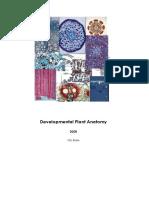 Develomental plant anatomy