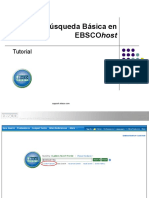 EBSCOhost Busqueda Basica