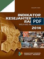 Watermark Indikator Kesejahteraan Rakyat 2014