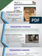 Medicina Legal Psiquiatría Forense