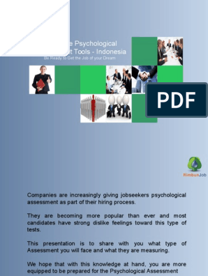 psychological assesment kit | Psychological Evaluation