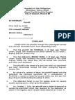 PC2- Civil Complaint- Unlawful Detainer