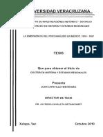 La Emergencia Del Psicoanalisis en Mexico 1910 a 1957df