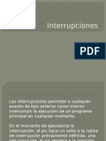 Interrup c i Ones