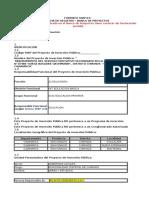 Formato Snip 03 Modelo Para Conglomerado