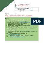 Summative Assessment Practcal Flowchart GRADE 6B