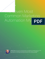 7 Most Common Marketing Automation Myths