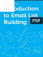 Introduction to Email List Building