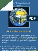ENV 107 Nutrient-Biogeochemical Cycle 7-8