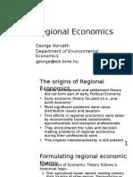 Regional Economics 01