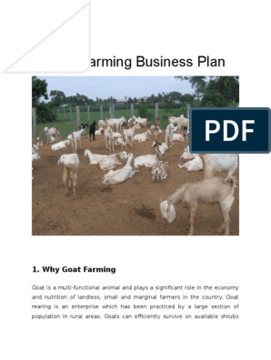 Goat Farming Business Plan