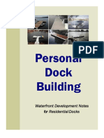 Personal Dock Building Techn i Dock