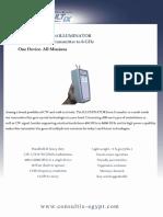 Consultix Wtx 610 Illuminator Datasheet 2016 v3