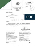 Significant Case in Corpo - Gamboa vs. Finance Sec