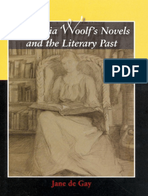 Virginia Woolf's Novels and the Literary Past pdf   Virginia